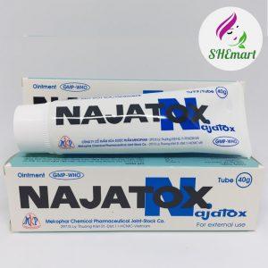 01 TUBE NAJATOX 40g